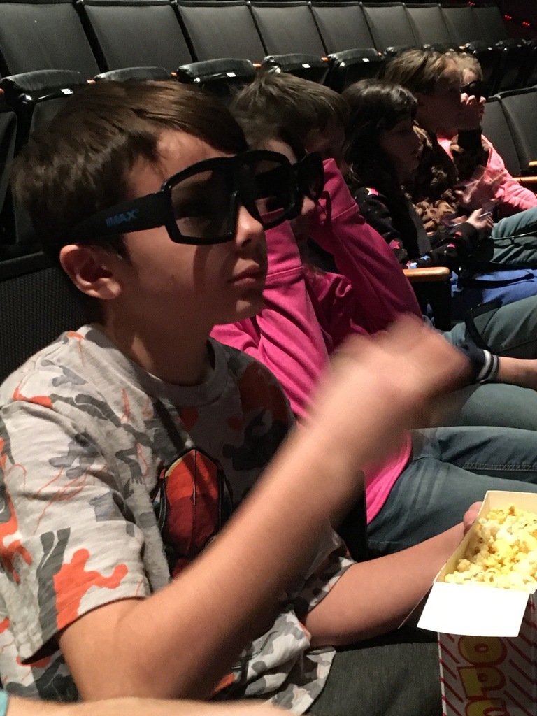 3D glasses for IMAX theater